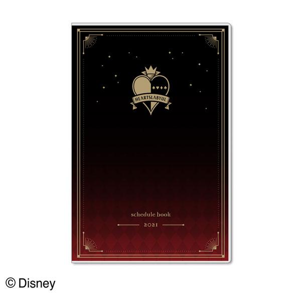 ディズニー ツイステッドワンダーランド 手帳月間A5スリム ハーツラビュル[サンスター文具]《発売済・在庫品》