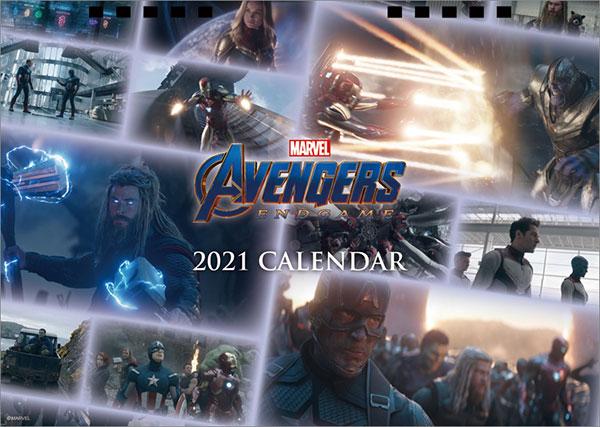 卓上 MARVEL 2021年カレンダー[イン・ロック]《在庫切れ》