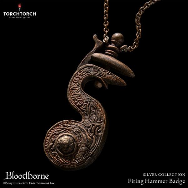 Bloodborne × TORCH TORCH/ シルバーコレクション: 撃鉄の狩人証 レギュラーモデル[TORCH TORCH]《12月予約》