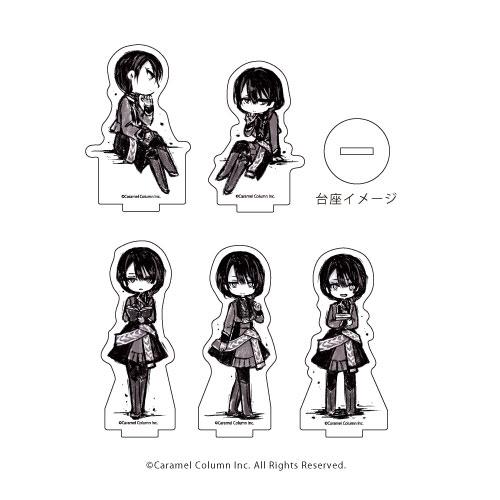 アクリルぷちスタンド「ALTER EGO」01/グラフアート 5個入りBOX[A3]《11月予約》