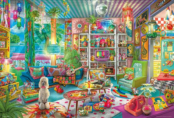 ジグソーパズル ガールズ キッチュルーム 1000ピース (31-511)[ビバリー]《発売済・在庫品》