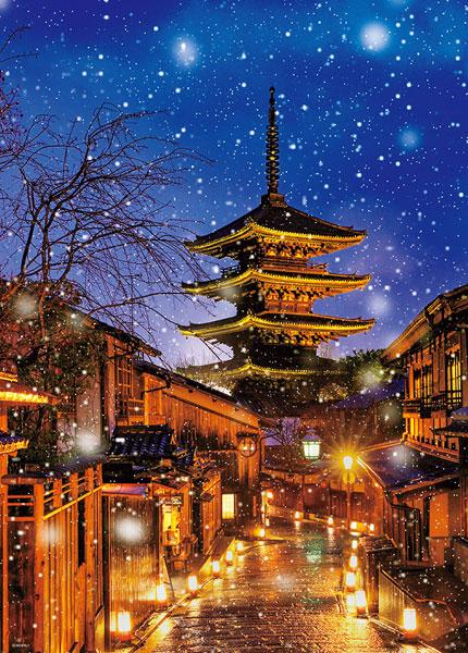 ジグソーパズル 日本風景(冬) 雪降る八坂の塔 600ピース (66-152)[ビバリー]《在庫切れ》