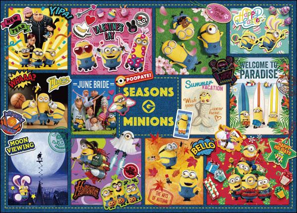 ジグソーパズル ミニオンズ シーズンズ・ミニオンズ 500ピース(05-1040)[やのまん]《在庫切れ》