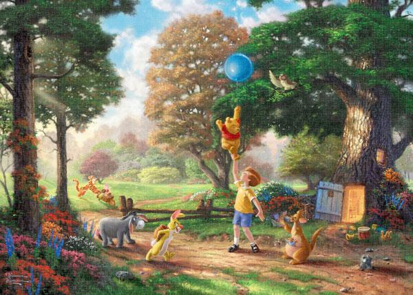 ジグソーパズル Winnie The Pooh II 2000ピース (D2000-629)[テンヨー]《発売済・在庫品》