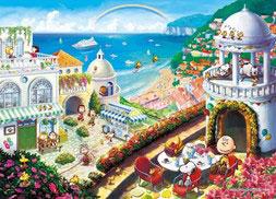 ジグソーパズル ピーナッツ スヌーピー バケーション 2000スーパースモールピース (54-215S)[エポック]《11月予約》
