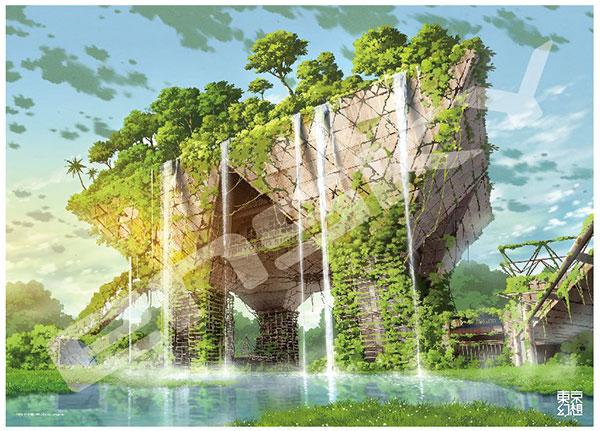 ジグソーパズル 東京幻想 東京ビッグサイト幻想 1000ピース (1000c-10)[エンスカイ]《11月予約》