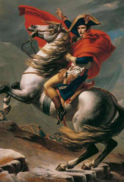 ジグソーパズル アートラウンジシリーズ ナポレオンのアルプス越え(ジャック=ルイ・ダヴィッド) 300ピース(300-233)[キューティーズ]《在庫切れ》