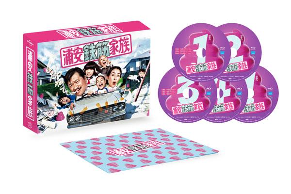 BD 浦安鉄筋家族 Blu-ray BOX[東宝]《在庫切れ》