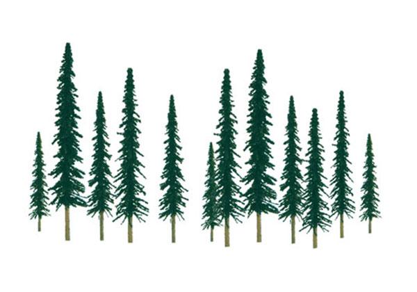 HOスケール 針葉樹(24本入り)[JTTミニチュアツリー]《在庫切れ》