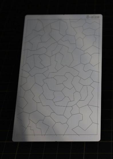 マスキングテープカットガイド5 プレート型 [スプリッター迷彩][スジボリ堂]《10月予約》