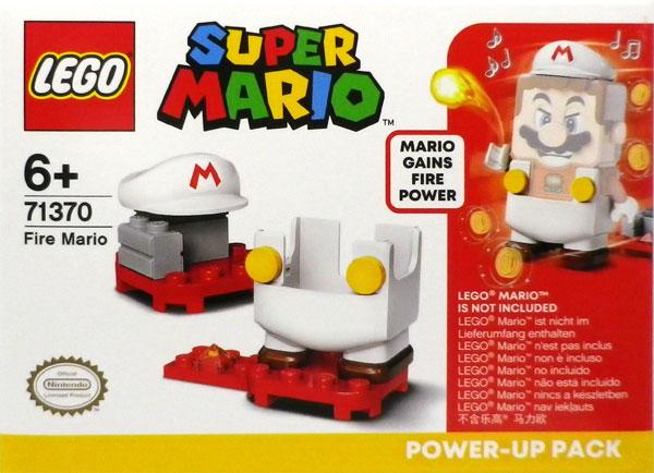 レゴ スーパーマリオ ファイアマリオ パワーアップ パック (71370)[レゴジャパン]《在庫切れ》