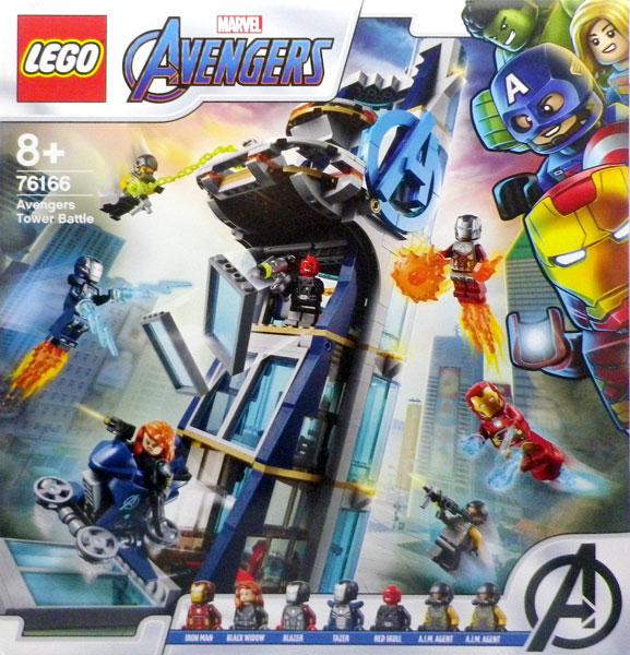 レゴ スーパー・ヒーローズ アベンジャーズ・タワーの決戦 (76166)[レゴジャパン]《在庫切れ》