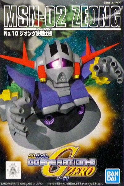 SDガンダム G-GENERATION No.10 ジオング 決戦仕様 プラモデル(再販)[BANDAI SPIRITS]《発売済・在庫品》