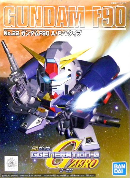 SDガンダム G-GENERATION No.22 ガンダムF90 プラモデル(再販)[BANDAI SPIRITS]《発売済・在庫品》