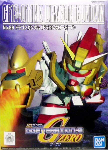 SDガンダム G-GENERATION No.26 ドラゴンガンダム プラモデル(再販)[BANDAI SPIRITS]《発売済・在庫品》