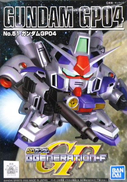 SDガンダム G-GENERATION ガンダムRX-78 GP-04 プラモデル(再販)[BANDAI SPIRITS]《発売済・在庫品》