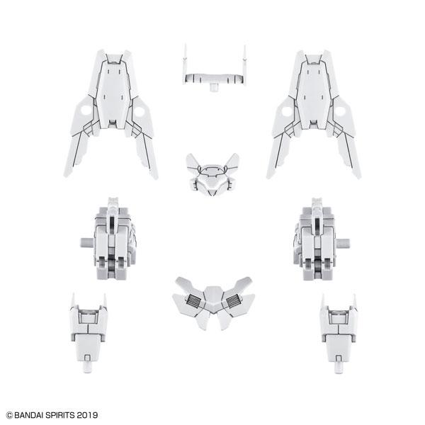 30MM 1/144 指揮官機用オプションアーマー[シエルノヴァ用/ホワイト] プラモデル[BANDAI SPIRITS]《01月予約》