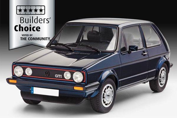 1/24 VW ゴルフ GTI ビルダーズチョイス プラモデル[ドイツレベル]《10月仮予約》