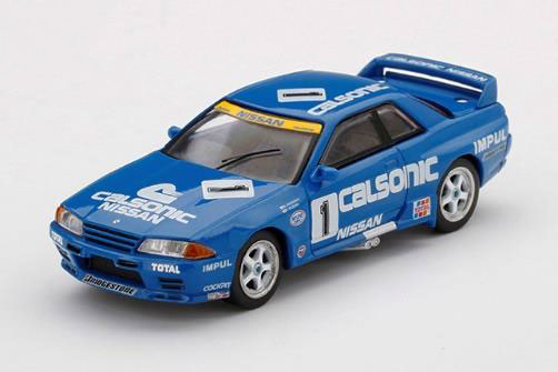 1/64 Nissan スカイライン GT-R R32 全日本ツーリングカー選手権 1991 Gr.A Calsonic #1(右ハンドル)[MINI GT]《10月予約》