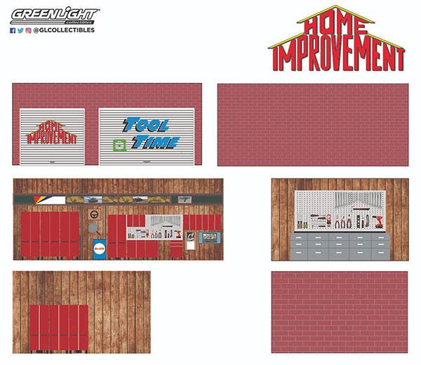 1/64 Mechanic's Corner Series 7 - Weekend Workshop Home Improvement (1991-99 TV Series)[グリーンライト]《02月仮予約》