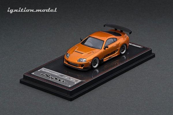 1/64 Toyota Supra (JZA80) RZ Orange Metallic GReddy Ver.[イグニッションモデル]《09月予約》