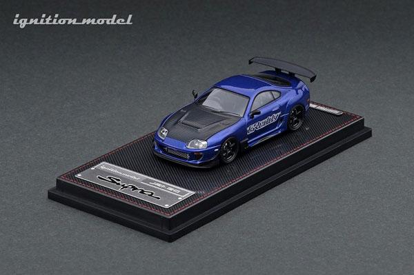 1/64 Toyota Supra (JZA80) RZ Blue Metallic GReddy Ver.[イグニッションモデル]《09月予約》