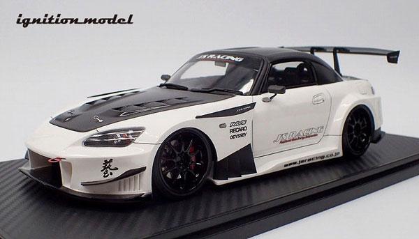 1/18 J'S RACING S2000 (AP1) Pearl White[イグニッションモデル]【送料無料】《02月仮予約》