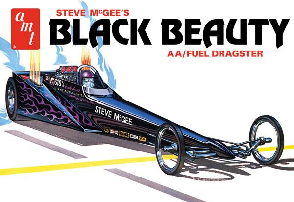 1/25 スティーブ・マッギー ブラック・ビューティー AA/フューエル ドラッグスター プラモデル[AMT]《09月予約》