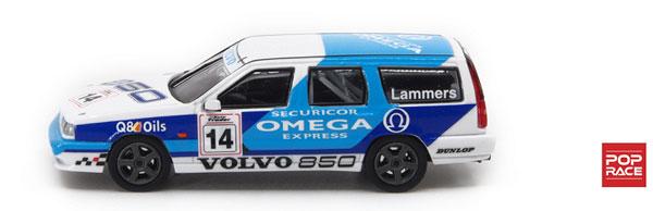 1/64 ボルボ 850 T-5R エステート イギリスツーリングカー選手権1994 #14[POP RACE]《09月予約》