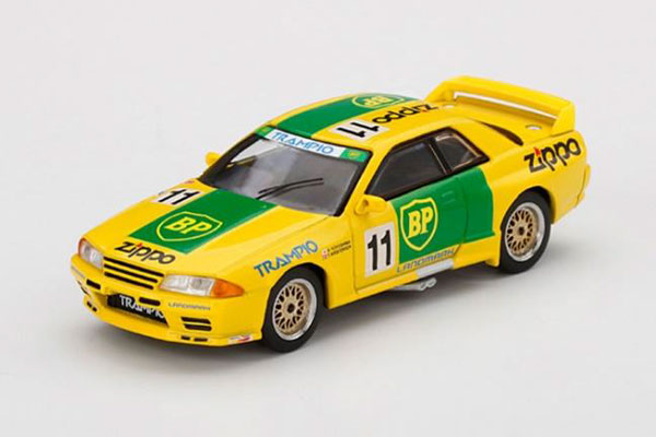 1/64 Nissan スカイライン GT-R R32 全日本ツーリングカー選手権 1993 Gr.A BP #11(右ハンドル)[MINI GT]《11月予約》