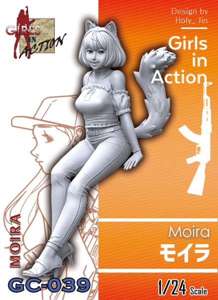 ガールズインアクションシリーズ 1/24 モイラ[TORI FACTORY]《在庫切れ》