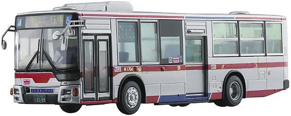 ワーキングビークル No.5 1/80 三菱ふそう MP38エアロスター (東急バス) プラモデル[アオシマ]《12月予約》
