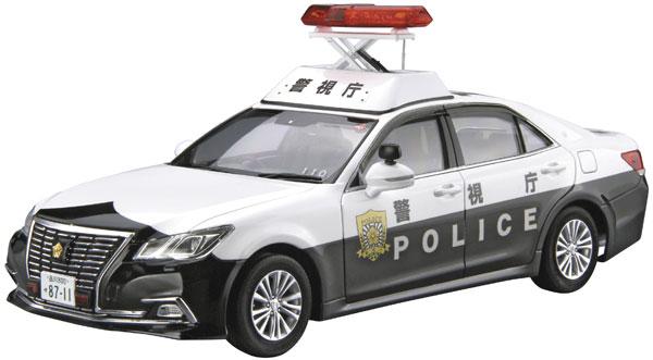 ザ・モデルカー No.129 1/24 トヨタ GRS210 クラウンパトロールカー 警ら用 '16 プラモデル[アオシマ]《12月予約》