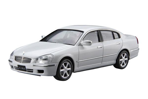 ザ・モデルカー No.125 1/24 ニッサン F50 シーマ/プレジデント '00 プラモデル[アオシマ]《12月予約》