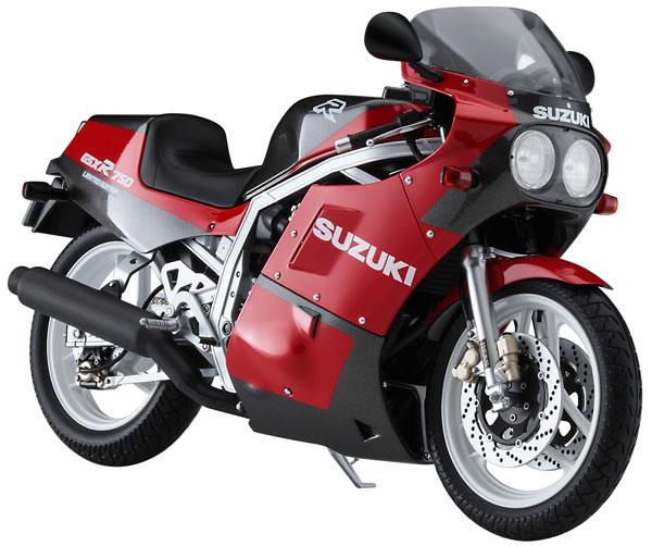 1/12 スズキ GSX-R750R プラモデル[ハセガワ]《12月予約》