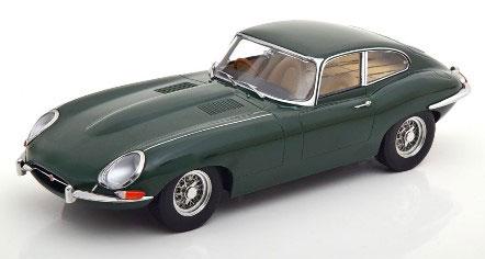 1/18 Jaguar E-Type Coupe Series 1 RHD 1961 british racing green/creme interior[KKスケール]《発売済・在庫品》