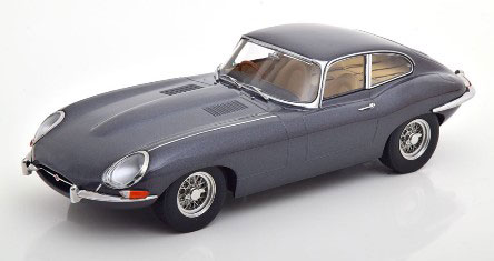 1/18 Jaguar E-Type Coupe Series 1 RHD 1961 grey-metallic/creme interior[KKスケール]《01月予約》