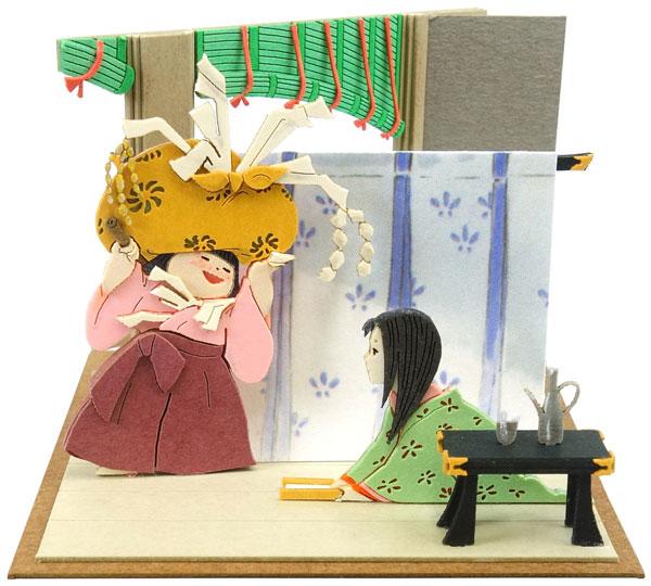みにちゅあーとキット スタジオジブリmini かぐや姫の物語 女童とかぐや姫〔MP07-107〕[さんけい]《在庫切れ》