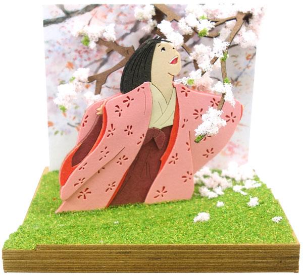 みにちゅあーとキット スタジオジブリmini かぐや姫の物語 山桜の木の下で〔MP07-108〕[さんけい]《在庫切れ》