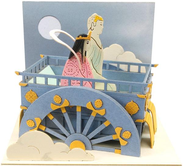 みにちゅあーとキット スタジオジブリmini かぐや姫の物語 月からのお迎え〔MP07-110〕[さんけい]《在庫切れ》