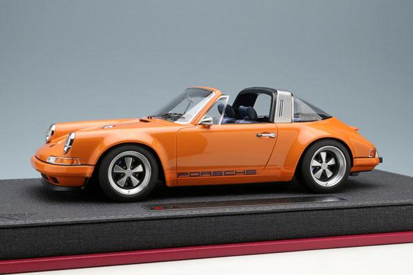 1/18 シンガー 911 (964) タルガ オレンジ[メイクアップ]【送料無料】《03月予約》