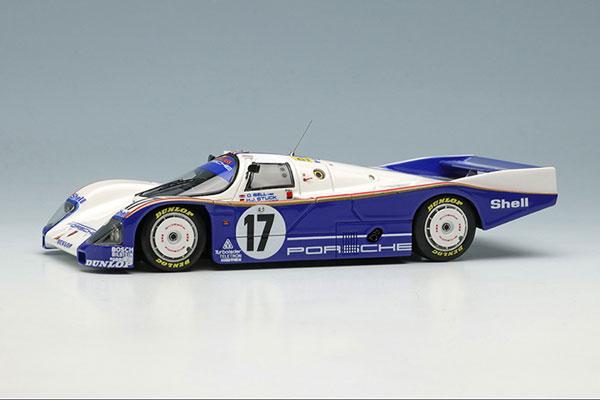 """1/43 ポルシェ 962C """"チーム ポルシェ"""" ルマン24時間 1987 NO.17 ウィナー[メイクアップ]【送料無料】《12月予約》"""