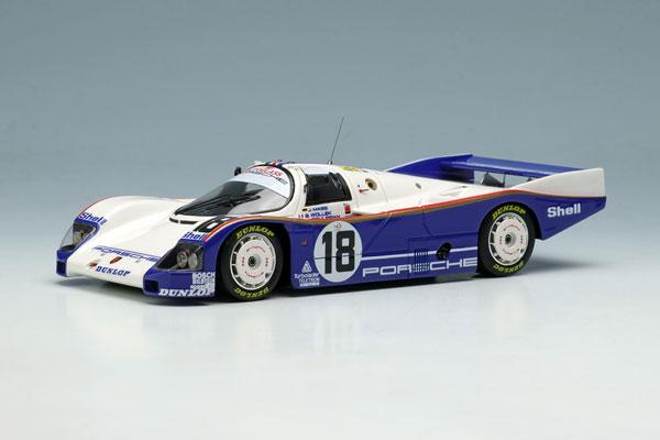 """1/43 ポルシェ 962C """"チーム ポルシェ"""" ルマン24時間 1987 NO.18[メイクアップ]【送料無料】《12月予約》"""