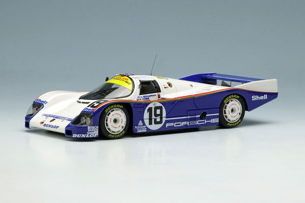 """1/43 ポルシェ 962C """"チーム ポルシェ"""" ルマン24時間 1987 プラクティス NO.19[メイクアップ]【送料無料】《12月予約》"""