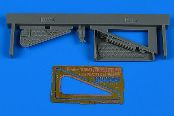 1/32 Fw190 垂直尾翼点検 ハッチ (後期型) (レベル用)[アイリス]《10月予約》
