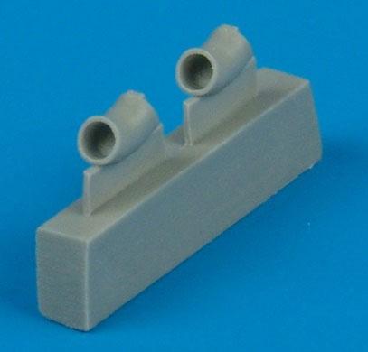 1/48 SBD3/5 排気管 (H社用)(再販)[クイックブースト]《10月予約》