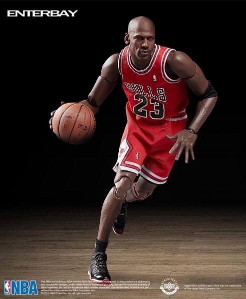 1/9 モーションマスターピース コレクティブルフィギュア NBAコレクション マイケル・ジョーダン(再販)[エンターベイ]【送料無料】《在庫切れ》