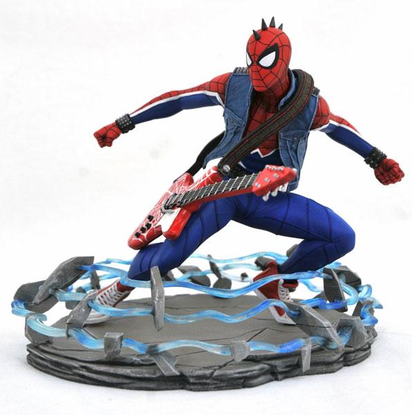 マーベルギャラリー/ Marvel Spider-Man: スパイダーマン パンクスーツ PVCスタチュー[ダイアモンドセレクト]《在庫切れ》