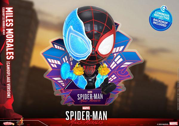 コスベイビー『Marvel's Spider-Man:Miles Morales』サイズS マイルス・モラレス/スパイダーマン(カモフラージュ版)[ホットトイズ]《発売済・在庫品》