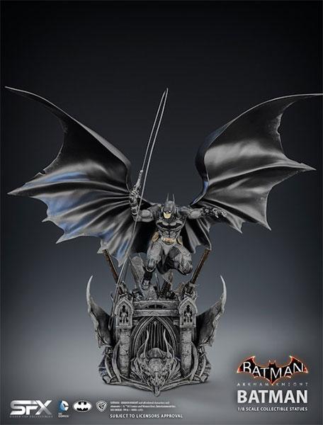 バットマン アーカム・ナイト 1/8スケールスタチュー バットマン[Silver Fox Collectibles]【同梱不可】【送料無料】《07月仮予約》